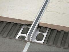 Giunto di dilatazione in alluminio naturale per pavimento PROJOINT DIL NTA - Cerfix® Projoint