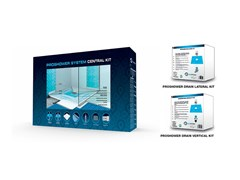 PROGRESS PROFILES, PROSHOWER SYSTEM CENTRAL KIT Sistema scarico doccia