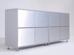 Mobile ufficio laccato con ante a battente PROSPERO | Mobile ufficio con ante a battente - Prospero