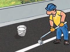 Pittura sintetica per segnaletica stradale orizzontalePROTECH ROAD LINE - AZICHEM