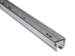 Profilo per illuminazione lineare in alluminioPS02 | Profilo per illuminazione lineare - ADHARA