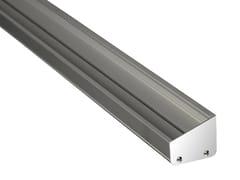 Profilo per illuminazione lineare in alluminioPS06 | Profilo per illuminazione lineare - ADHARA