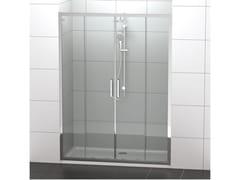 Ideal Standard, CONNCECT 2 - PSC2 Box doccia a nicchia in vetro temperato con porta scorrevole