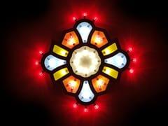 Lampada da parete a LED in legno PSICHE - Amplifica