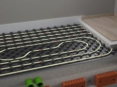 Pannello radiante a pavimento ad alto isolamento con grafitePSM G-PLUS - IDROSISTEMI