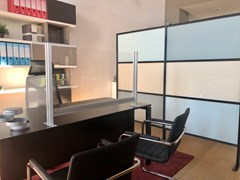 Pannello divisorio da scrivania in policarbonatoPTB - STUDIO T