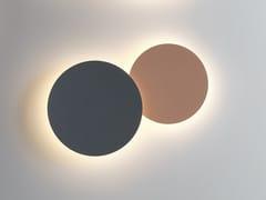 Applique a LED a luce indirettaPUCK WALL ART DOUBLE - VIBIA