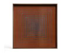 Vassoio quadrato in legno e vetroPUMPKIN SQUARE - SQUARE L - ETHNICRAFT