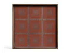 Vassoio quadrato in legno e vetroPUMPKIN SQUARES - SQUARE S - ETHNICRAFT