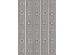 Rivestimento tridimensionale in gres porcellanato smaltatoPUNTO MATT DOWN GREY - MUTINA