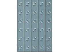 Rivestimento tridimensionale in gres porcellanato smaltatoPUNTO MATT DOWN BLUE - MUTINA