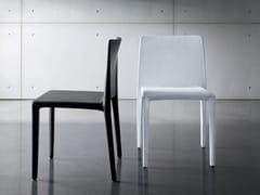 Sedia in pelle PURA | Sedia in pelle - Pura