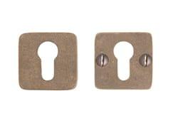 Bocchetta quadrata in bronzo PURE 14507 - Pure®