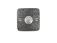 Dauby, PURE 14904 Pulsante per campanello in metallo