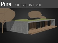 Casa prefabbricataPURE - POPUP HOUSE