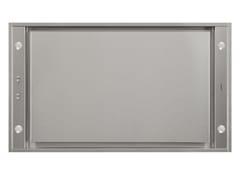 Cappa a soffitto in acciaio inox classe A+PURELINE | Cappa con illuminazione integrata - NOVY