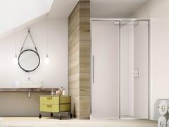 RELAX, PURO SC1 Box doccia a nicchia con porta scorrevole