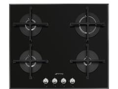 Piano cottura a gas da incasso in vetroPV164N2 - SMEG