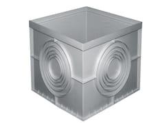 Pozzetto monolitico grigio tradizionale in polipropilenePZ55 - FIRST CORPORATION