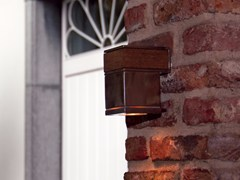 Lampada da parete per esterno a luce diretta in acciaio inoxQ-BIC 1D | Lampada da parete per esterno - ROYAL BOTANIA