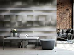 Lastra in alluminio Dvne® per rivestimentiQUADRA.25 - DVNE MILANO