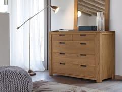 Cassettiera in legno masselloQUADRA | Cassettiera - DEVINA NAIS