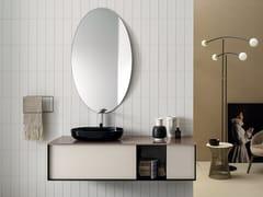 Mobile lavabo componibile sospeso con cassettiQUADRA | Mobile lavabo componibile - ARTELINEA