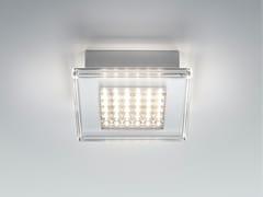 Lampada da parete / lampada da soffitto in plastica QUADRILED | Lampada da soffitto -
