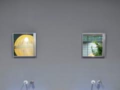 Antonio Lupi Design, QUADRO Specchio quadrato con cornice da parete