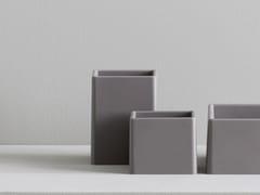Portaspazzolino da appoggio in materiale sinteticoQUADRO | Portaspazzolino - REXA DESIGN
