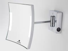 Specchio ingranditore a parete con illuminazione integrataQUADROLO LED | Specchio ingranditore a parete - KOH-I-NOOR CARLO SCAVINI & C.