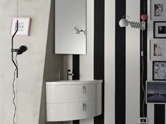 Sistema bagno componibile QUANTUM - COMPOSIZIONE 1 - Quantum