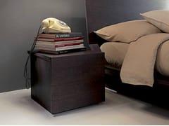 Comodino quadrato in legno QUARANTACINQUE | Comodino - QUARANTACINQUE