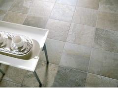 Pavimento in gres porcellanato effetto pietraQUARTZ - CERAMICHE COEM