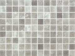 Mosaico antiscivolo in vetro per interni ed esterniQUARTZ GREY MATTE - ONIX CERÁMICA