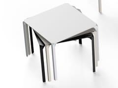 Tavolo da giardino quadrato in poliammide QUARTZ | Tavolo quadrato - Quartz