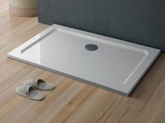 Piatto doccia rettangolare in acrilico QUICKR | Piatto doccia rettangolare - Showering