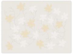 Trapunta jacquard in cotone con motivi florealiPEACH BLOSSOM | Trapunta - SANS TABÙ