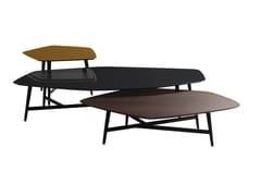Tavolino basso in legnoQUINTET - ROCHE BOBOIS