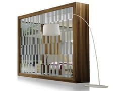 Armadio in legno e vetro con ante scorrevoliR-100 | Armadio - DALE ITALIA
