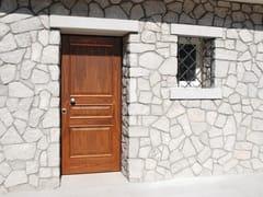Porta d'ingresso blindata in noce ELITE - 16.5012 M60Vip - Professional