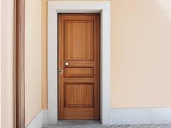 Porta d'ingresso blindata in noce SUPERIOR - 16.5013 M16 - Professional