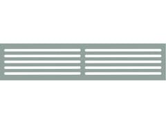Griglia di ventilazione rettangolare a filo muroR95445 - WONDAIR