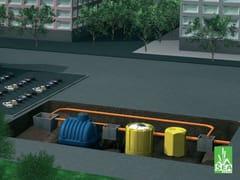 Impianto di prima pioggia con accumuloRAIN - REDI