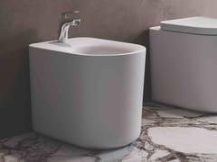 Bidet compatto filo parete in ceramica a pavimentoRAK-VALET | Bidet - RAK CERAMICS