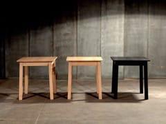 Tavolo quadrato in rovereRAMEN - HEERENHUIS