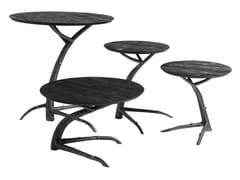 Tavolino rotondo in betullaRAMO - ROCHE BOBOIS