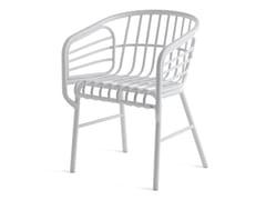 Sedia in alluminio con braccioliRAPHIA ALLUMINIO - HORM ITALIA