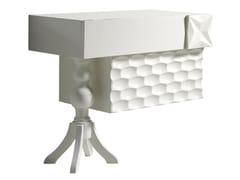 Comodino rettangolare in legno con cassettiRASCACIELOS | Comodino - LOLA GLAMOUR