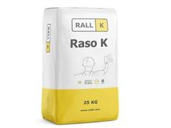 RALLK, RASO K PLUS Rasante bianco idrorepellente fine ad alta traspirabilità